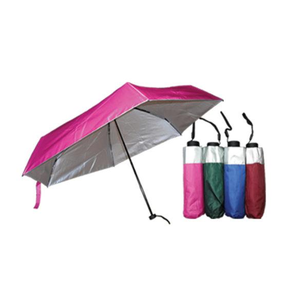 Mini Pink Umbrellas