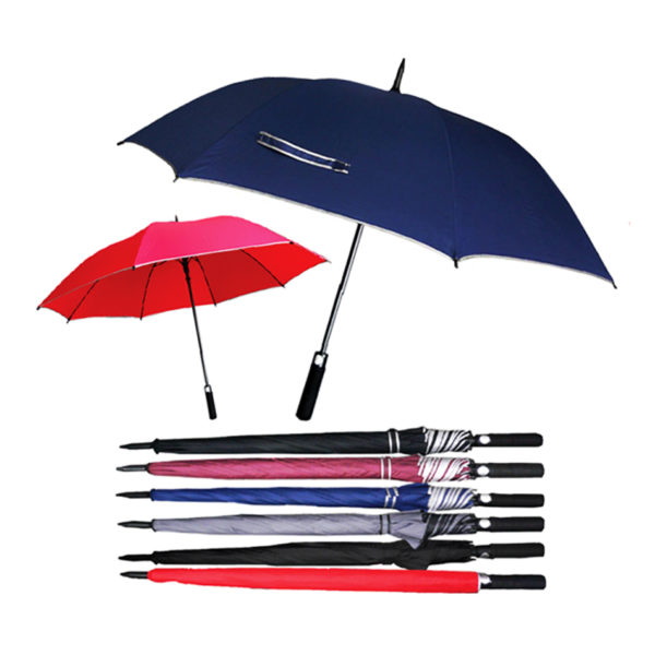 Red & Blue Umbrella